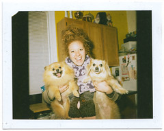 gucci abby and willy (jeremy pettis) Tags: mamiya polaroid puppies rb67 mamiyarb67 125i
