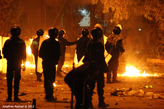 Clashes Around Muslim Brotherhood's Main Headq...