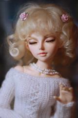 Santi - Fairyland MiniFee Lishe by Jewel (Trotilla) Tags: handmade santi fairyland 2012 crocheting lishe 16inch minifee santiaga 41cm 14scale dollmorewig 201212 ooakbyjewel