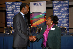 Black and Minority Ethnic Teachers'     Consultation Conference (nasuwt_union) Tags: nasuwt education conference woman man black white speaking stand hall meal drinks happy members workshop pesident birmingham banner meeting stage positive portrait guidance crowd teachers leaders lectures students awards executive staff show tell help advice support listen adults people england scotland northern ireland wales strong women men insturction health safetly wellbeing classroom school college university table voting union best brilliant workplace seminar