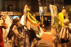 IMG_4680 (Charles J. Scanlon) Tags: dance dancers tribal guadalupe plazadearmas ciudadjuarez matachines ritualdance matachin zonacentro tricaldance