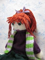 SisuDressed7 (toureasy47201) Tags: doll handmade knit yarn knitteddolls arnecarlos
