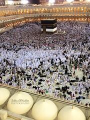 الشوق و الحنين ياخذاني إلى هناك ،، (Drop of water*) Tags: mosque mecca hajj مكة mecque الكعبه الحج