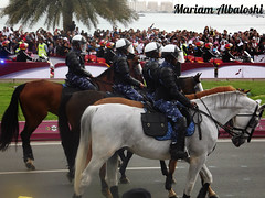 Qatar National day Parade 2012.. (Mariam Albalooshi) Tags: parade doha qatar  cornich
