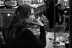 Avec attention (Wal CanonEOS) Tags: she street portrait people blackandwhite bw woman streets byn blancoynegro argentina girl lady bar night canon eos monocromo noche calle mujer buenosaires y gente retrato candid femme mulher negro elle ella retratos monocromatic frau dame attention callejeando ela santelmo calles dama avec bsas sie seora monserrat femenina caba monocromatico capitalfederal ciudaddebuenosaires portraitbw womanportrait kvinna candidstreet retrati alairelibre retratomujer argentinabsas argentinasantelmo retratobyn retratofemenino ciudadautonoma restourante streetsbw bwcandid rebelt3 canoneosrebelt3 avecattention conatencion conatencin argentinablancoynegro