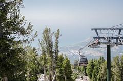 This Gondola was Heavenly (Allison Mickel) Tags: nikon d7000 adobe lightroom edited nevada lake tahoe heavenly mountain california gondola
