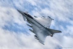 Typhoon FRG4 (DrAnthony88) Tags: eurofightertyphoonfgr4 modernmilitary nikkor200400f4gvrii nikond810 phase3enhancement raffairford jellyair aircraft airplane spluff vapor vapour