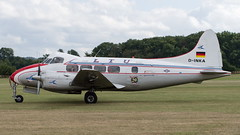 De Havilland DH 104 Dove (03) (Disktoaster) Tags: airport flugzeug aircraft palnespotting aviation plane spotting spotter airplane pentaxk1 dikur dinka dove