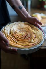 Apple Tart (Urban Kitchen Affair) Tags: tart apples frangipane