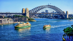Sydney Harbour (Howie44) Tags: sydney sydneyharbour sydneyharbourbridge australia outdoors water