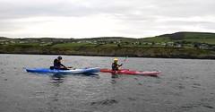 Brotherly Kayaking (cor_mcg) Tags: kayak kayaking kayakingdonegal kayaks seakayaking seakayak beach foyle foyleriver loughfoyle atlantic water watersport watersports canoe canoeing canoes