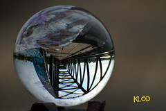 The crystal ball (kl-od) Tags: crystal ball railroad klod claudeklod claudecharbonneau crystalball princeofwalesrailroadbridge