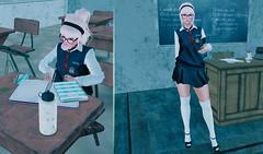Back To School (BerryGotStyle) Tags: moveanimation dance school ideza kalopsia mbirdie ra foxy fiore maitreya reign