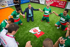 Homeless World Cup 2016 (Homeless World Cup Official) Tags: hwc2016 homelessworldcup aballcanchangetheworld thisgameisreal streetsoccer glasgow soccer bulgaria scotland