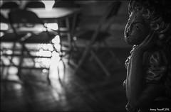 Dark song (Explored 24/08/2016) (zolaczakl ( 2 million views, thanks everyone)) Tags: bristol bristolinmonochrome blackandwhitebristol blackandwhite mono monochrome carving cathedral bristolcathedral lightshadow photographybyjeremyfennell nikond7100 sigma1835mmf18dchsmlens uk england southwest interior