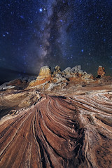 Alien Dreams (skypointer2000) Tags: whitepocket arizona milkyway milchstrasse astrophotography astro astronomy nightscape night longexposure landscape canon canoneos6d hutech astromodified tamronsp1530mmf28 stacking fitswork