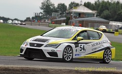 Battle of Britain meeting Croft 2016_0013   28-08-2016 (ladythorpe2) Tags: darlington district motor club north yorkshire croft circuit battle britain august 2016 northern saloon sports car nsscc seat ibiza saloons cars classes a e race 4 54 andrew morrison leon cup 7th over all sterling scotland