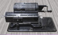 .   (Iron Felox. Precomputer arithmometer) (Nickolas Titkov) Tags:  canoneos5d sigma150mmf28exdgapohsmmacro            moscow arithmometer ironfelix felix instrument indoor moscowpowerengineeringinstitute object
