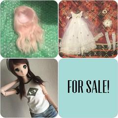 BJD SALES \\ PRICE SLASH!! // (lilstrawberryclouds) Tags: minifee alpaca wig smart doll ivory danny choo for sale adoption fs fa wtb cyome bjd ball jointed asian
