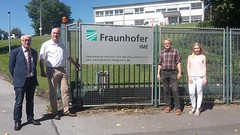 Besuch beim Fraunhofer IME