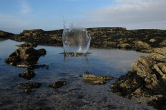 Splash (Declan Geraghty) Tags: water sea splash seascape rocks rockpool skerries ireland irland fingal dublin seashore