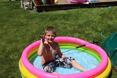 1E7A5470 (anjanettew) Tags: swimming diving kids pool summer fun twins sillykids splashing babypool