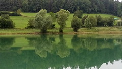 Green Reflection - Lago di Coredo (presbi) Tags: landscape riflesso coredo valdinon trentino italy italia lake lago reflection