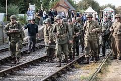 DSC_7405.jpg (john_spreadbury) Tags: ww2 mortar gi homeguard german blacknwhite johnspreadbury reenactment group rifle machinegun stengun cricklade swindon railway troops army english americans uniforms smoke wartime soldiers british