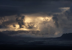 hellscape above Skeiararjokull Iceland (EFlash271) Tags: iceland glacier adventure landscape scenery mountain waterfall
