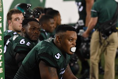 Football-vs-Eastern Michigan, 9/17, Chris Crews, DSC_8285 (Niner Times) Tags: 49ers cusa charlotte d1 emu eagles eastern fbs football michigan ncaa unc uncc ninermedia