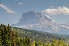 The Chief (Blue Trail Photography) Tags: chief mountain waterton glacier national park montana alberta usa united states canada sun sky cloud rockies rocky forest tree nature outdoor summer west