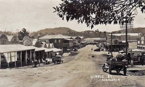 Currie Street, Nambour, Qld - 1920s