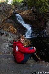 LR-9586 (mikekos333) Tags: 2016 waterfall rangeley maine smallsfalls mike catherine