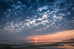 Cuando me pierdo (Daniel Alejandro Alves) Tags: sunset atardecer colonia del sacramento uruguay nikon d5500 18140mm beach sun sol playa blue hour hora azul horaazul bluehour invierno winter