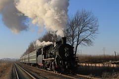 I_B_IMG_9055 (florian_grupp) Tags: asia china steam train railway railroad diaobingshan tiefa liaoning sy coal mine 282 mikado steamlocomotive locomotive
