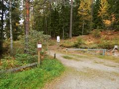 Lvnsbadet's parking at the lake Yngern (Flicker Classic Person) Tags: yngern lvnsbadet beach strand naturist nudist fkk sdertlje nykvarn sweden sverige safe 2016 parking signs forest