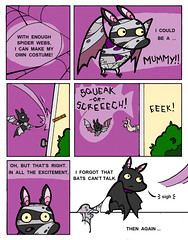 Bat-o-ween, pg 3 of 4 (Fox Mime) Tags: halloween minicomic