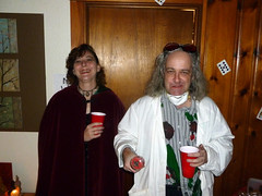 Magic and Science at Kari and Owen's Halloween Party 2012 (benchilada) Tags: party halloween kari owen 2012