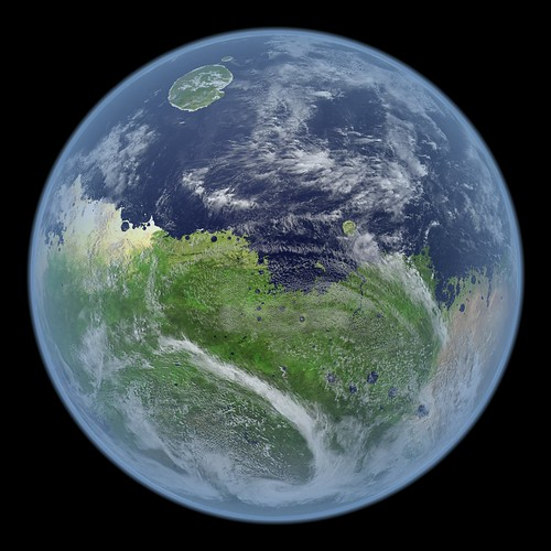 A Living Mars: A Visualization of Mars, Very Much Alive