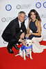 Gary Lineker; Danielle Lineker, Battersea Dogs & Cats Home's Collars & Coats Gala Ball 2012 held at the Battersea Evolution - Arrivals. London, England