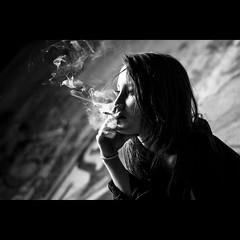 The Subterraneans - Explored Nov 9, 2012 #314 (Federico Ravassard) Tags: white black youth umbrella canon rebel allen cigarette smoking teen beat 18 ginsberg generation federico howl urlo fumo sigaretta 550d yongnuo ravassard