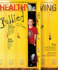 cover :: healthy living :: 0912 (jamie ezra mark) Tags: living locker cover ezra bullying covermagazine designmagazine