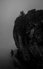 Fog (Jonathan Kos-Read) Tags: china blackandwhite bw mountains fog freezing  choice    sigma14mmf28