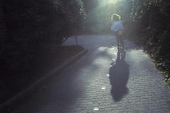(m.tones) Tags: bike vancouver 35mm island nikon fuji bc ride granville 14 seawall 400 ais fe2 summer2012