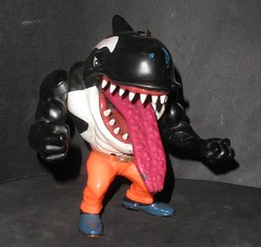 street sharks 01 (mikaplexus) Tags: wild favorite animal animals vintage toy toys actionfigure shark teeth cartoon wicked 80s figure sharks figurine eighties 1980s groovy figures cartoons killerwhale scores streetsharks streetshark ireallylike