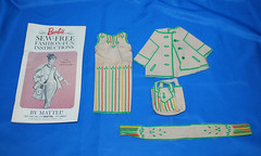 Instructions too! (toomanypictures1) Tags: vintage mattel ooakfashion prettytraveler sewfreefashionfun