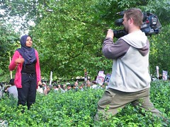 Pretty Press TV Reporter (Kombizz) Tags: trees people green london fashion canon poster beard israel veil palestine banner photojournalism flags demonstration redlips zionism mayfair holyland placard cameraman englishman americanembassy palestinian occupation grosvenorsquare headcover 6457 ihrc rosari ayatollahruhollahkhomeini imamkhomeini qudsday islamichumanrightscommission kombizz presstv hejob hijob palestinanflag alqudsdaydemonstration qudsday2012 zionistoccupation canonbctv presstvcameraman canonbroadcasting canonbroadcastingvideomaking prettypresstvreporter w1a2lq