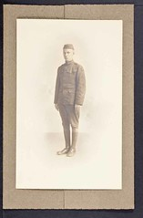 James D. Watson, Sr. World War I Portrait (CSHL Archives) Tags: portraits worldwari cshl jamesdwatson