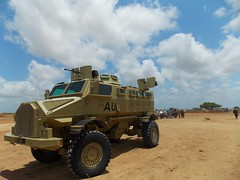 AMISOM Casspir, K50 Airport (fmesko) Tags: somalia marka k50 k60 afgooye afgoye