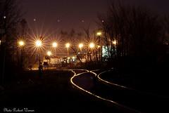Choix de direction.../ Choice of direction... (Pentax_clic) Tags: light track darkness pentax quebec rail lumiere challenge obscurité kx défi vaudreuil